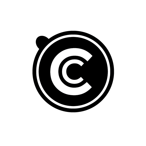 Icon only - Make a shape, image or design the main part of your logo
